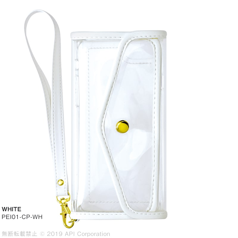 iPhone 8/7/6s/6ケース CLEAR POUCH