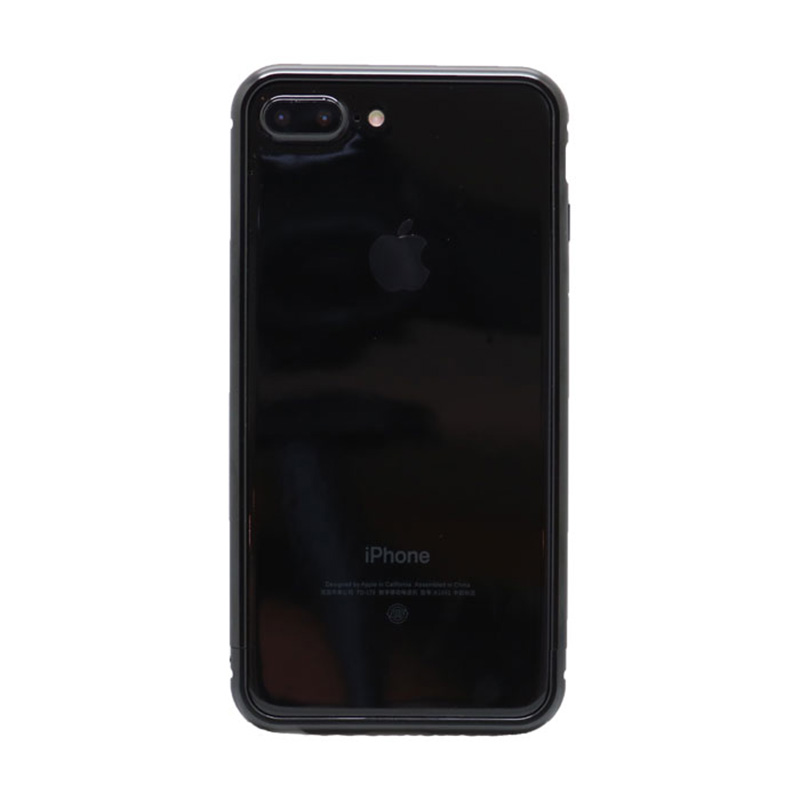 METAL BUMPER JET BLACK for iPhone 7 Plus